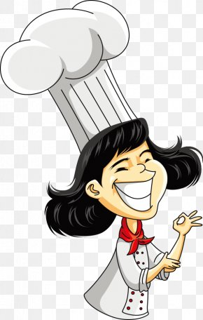 Vector Female Chef - Chef Cartoon Royalty-free Illustration PNG