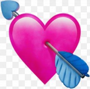 Magenta Love - Heart Pink Love Heart Clip Art PNG