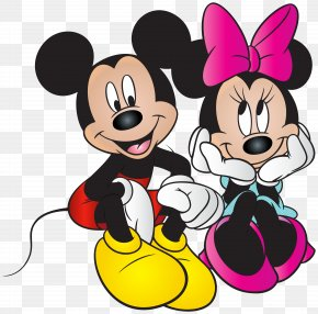 Mickey And Minnie Mouse Free Clip Art Image - Mickey Mouse Minnie Mouse Donald Duck Goofy Daisy Duck PNG