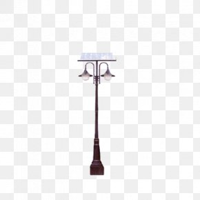 Solar Street Light - Solar Street Light Light Fixture PNG