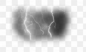 Clouds Lightning - Black And White Stock Photography Stock.xchng Wallpaper PNG