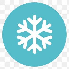 Snow Flake - Leaf Tree Symbol Aqua Green PNG