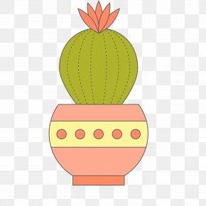 Cactus Vector Plant - Cactaceae Euclidean Vector Plant PNG