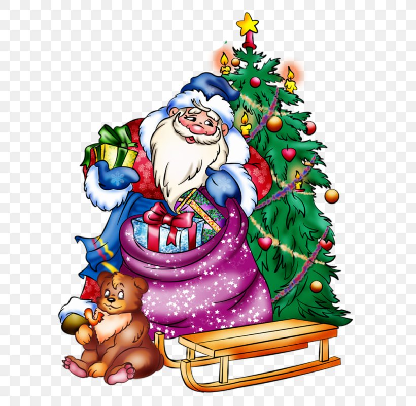 Ded Moroz Snegurochka Santa Claus New Year Christmas Day, PNG, 614x800px, 2018, Ded Moroz, Animation, Christmas, Christmas Day Download Free
