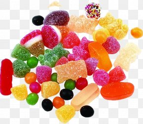 Colorful Candy - Ice Cream Bonbon Candy Fruit PNG