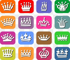 Crown Color Icon Design - Photography Icon PNG