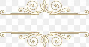 Gold Pattern - Picture Frame Gold Pattern PNG