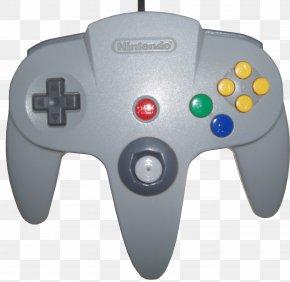 Nintendo - Nintendo 64 Controller Super Nintendo Entertainment System Wii Super Mario 64 PNG