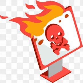 Cartoon Computer Firewall - Firewall Software Testing Computer Network PNG