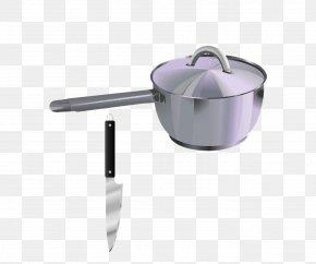 Cartoon Pot Knife - Frying Pan Stock Pot Cookware And Bakeware Clip Art PNG