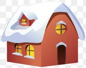 House - Gingerbread House Santa Claus Clip Art PNG
