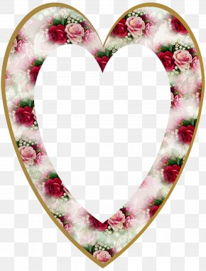 Valentine's Day - Picture Frames Valentine's Day Heart PNG