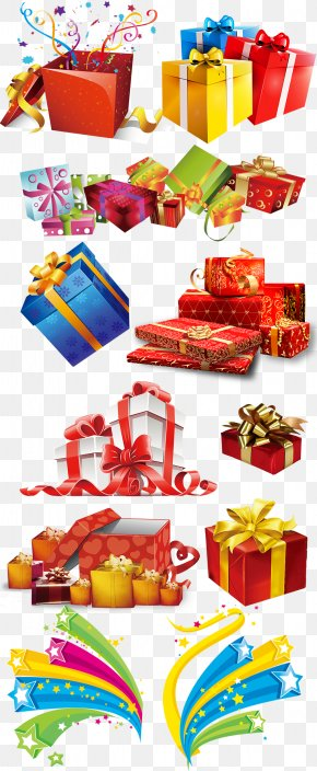 Colored Colorful Gift Box Gift Collection - Paper Gift Box Packaging And Labeling PNG