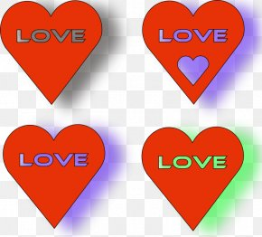 Red Hearts Pictures - Heart Valentine's Day Clip Art PNG