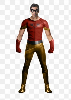 Flash - Flash Wally West Johnny Quick The CW Television Network Costume PNG
