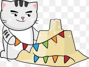 Songkran Festival - Kitten Songkran Thailand Whiskers Festival PNG