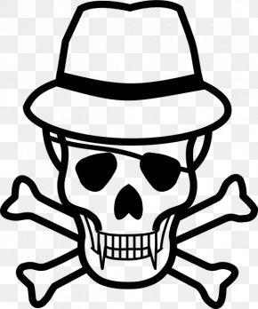 Jolly Roger - Skull And Bones Skull And Crossbones Human Skull Symbolism PNG