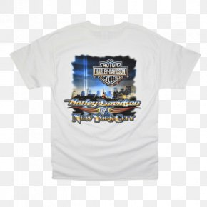 T-shirt - T-shirt Sleeve Harley-Davidson Of New York City (MAIN SHOWROOM) Hoodie PNG