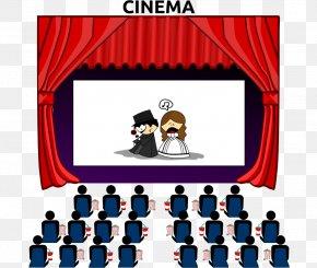 Theatre Building Cliparts - Cinema Film Clip Art PNG
