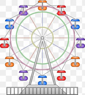 Ferris Wheel Cartoon - Car Ferris Wheel Clip Art PNG