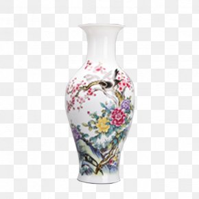 Vase - Vase Ceramic Decorative Arts Ornament Living Room PNG