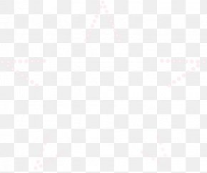 Pink Circle FivePointed Floating Material - White Pixel Icon PNG