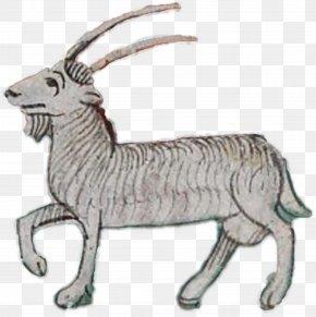 Capricorn - Goat Deer Antelope Caprinae Clip Art PNG