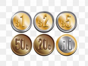 Gold Coin Set - Gold Coin PNG