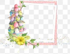 Easter Egg Border - Easter Egg Animation Picture Frames PNG