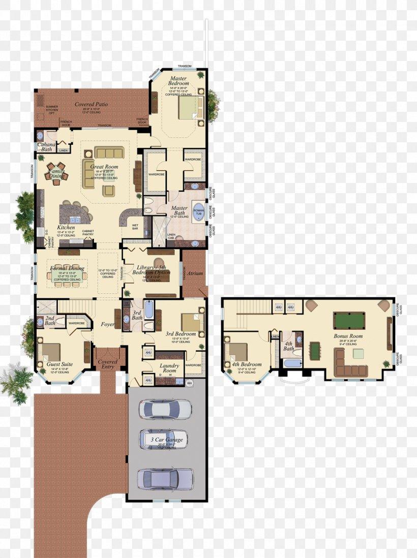 Floor Plan Boynton Beach House Plan