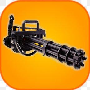 Machine Gun - Minigun Machine Gun Firearm Rate Of Fire PNG