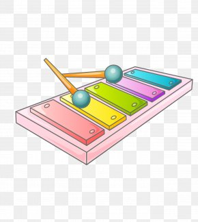 Colored Cartoon Musical Instruments - Musical Instruments PNG