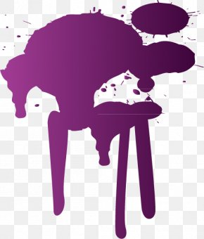 Creative Purple Splash - Graphic Design Purple PNG
