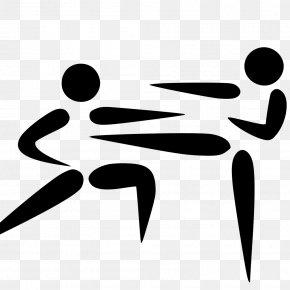 Karate - 2020 Summer Olympics Olympic Games Karate Kumite Clip Art PNG