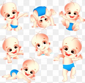 Baby - Diaper Infant Cartoon Clip Art PNG