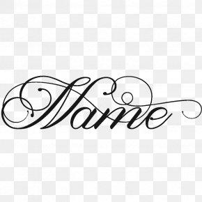 Arabesque - Calligraphy Italic Type Logo Typeface Font PNG