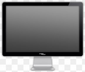 Monitor Image - LED-backlit LCD Computer Monitor Output Device Personal Computer Display Device PNG