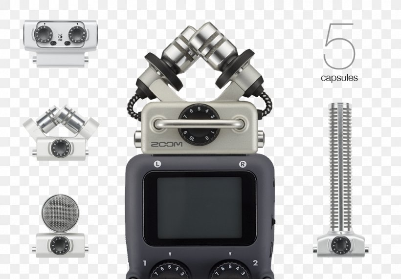 Microphone Digital Audio Zoom Corporation Zoom H4n Handy Recorder