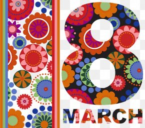 Women's Day Fine Background - International Womens Day March 8 Valentines Day Woman PNG