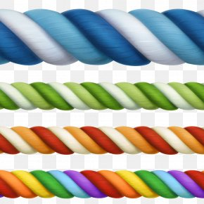 Colored Stripes Rope Image - Rope Royalty-free Illustration PNG