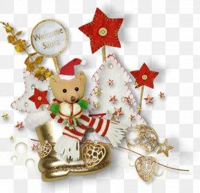 Santa Claus - Santa Claus Christmas Day Candy Cane Christmas Ornament Christmas Decoration PNG