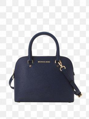 Michael Kors Black Leather Shoulder Bag - Handbag Leather Fashion Shoulder PNG