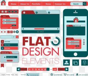 Vector Web Design - Web Page Web Design Web Button PNG