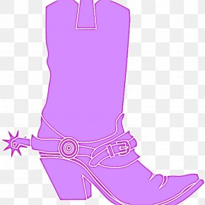 Costume Accessory Riding Boot - Footwear Boot Cowboy Boot Pink Shoe PNG