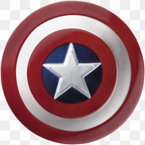 Round Captain America Shield Png Image - Captain America's Shield Iron Man Costume Ultron PNG