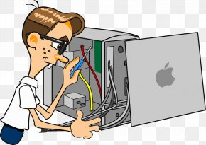 Computer - Computer Hardware Clip Art Computer Repair Technician Networking Hardware PNG