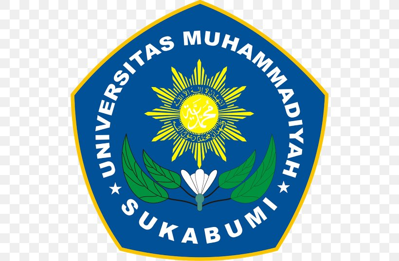 Emblem Logo Muhammadiyah University Of Sukabumi Brand Organization Png 530x537px Emblem Area Badge Brand Label Download
