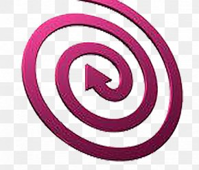 Spiral Direction Of The Arrow - Spiral Shape Photography Royalty-free Illustration PNG