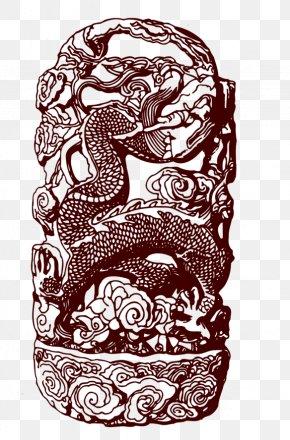 Metal Sculpture Dragon - Sculpture PNG