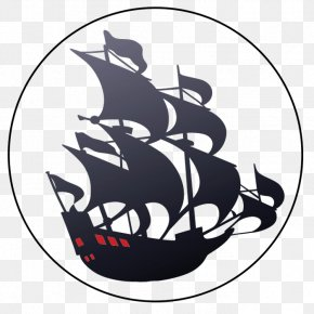 Ship - Stencil Sailing Ship Piracy PNG